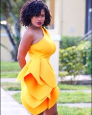 Yellow Ruffle 2 3